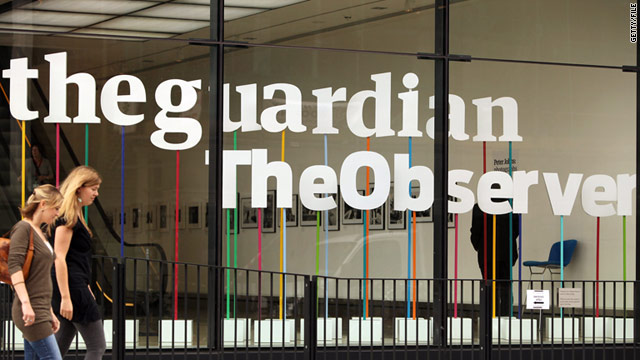 London police are trying to force the Guardian newspaper to reveal confidential sources in the phone hacking scandal.