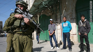 A Palestinian man was killed during an Israeli raid in Hebron, a West Bank city with a heavy Israeli troop presence.