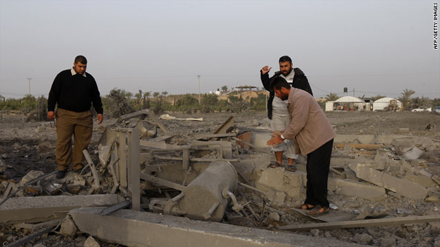 Khan Yunis, in the Palestinian territory of Gaza, has been the site of several Israelis airstrikes in recent months.