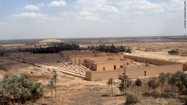 Nebuchadnezzar's Palace at Babylon. Iraq hopes the ancient site will help put it back on the tourist map.