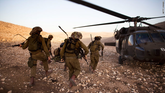 The IDF, pictured in a December training exercise, expressed regret for the death of a 66-year-old Palestinian in January.