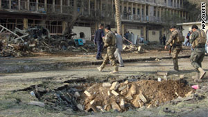 Iraq has been rocked by a series of deadly suicide bomb blasts in recent days.