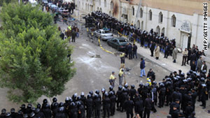 European Coptic churches are on high alert following the New Year's Day bombing of a Coptic church in Alexandria,  Egypt.