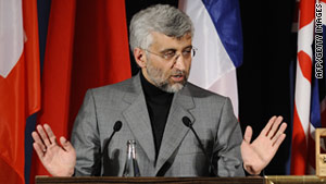 Diplomats say Saeed Jalili showed no interest in confidence-building measures Iran could take to move forward.