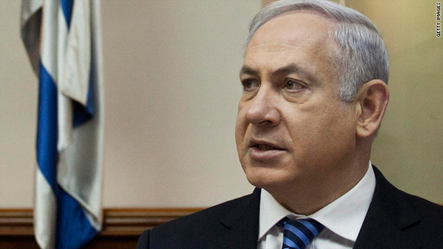 "Israeli Prime Minister Benjamin Netanyahu told his cabinet that Israel is ""anxiously monitoring"" events unfolding in Egypt."