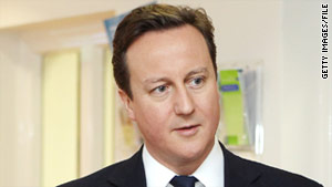 """""""These are despicable scenes that we're seeing, and they should not be repeated,"""" British PM David Cameron said."""