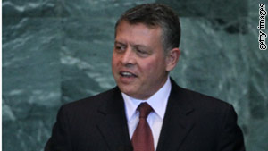 King Abdullah has instructed Jordan's new government to re-examine the election law and tackle corruption.