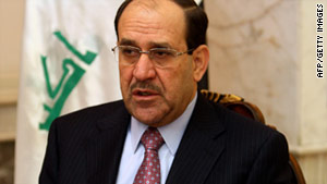 "Prime Minister Nuri al-Maliki said cutting his salary will ""reduce the differences in the living standards for different classes."""