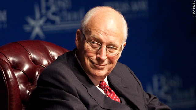 Former Vice President Dick Cheney says Egyptians will decide Hosni Mubarak's fate as the country's leader.