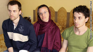 Shane Bauer, Sarah Shourd and Josh Fattal were detained in 2009 when they allegedly crossed the Iranian border.