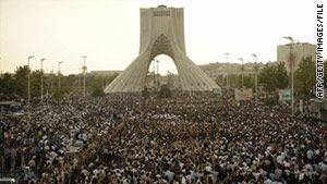 Opposition leaders have asked to hold a rally next week in Tehran's Azadi Square, site of protests after the 2009 vote.
