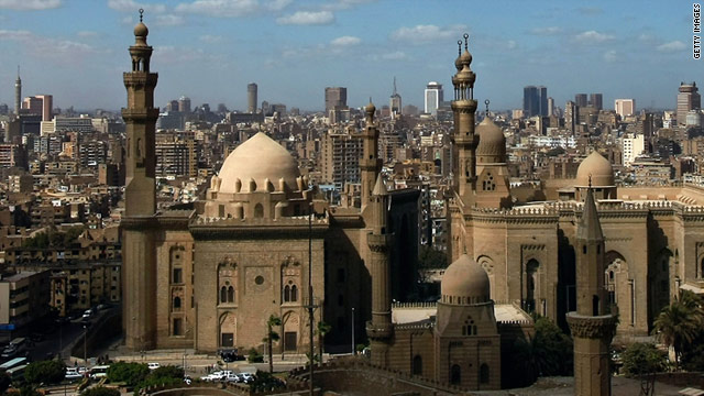 "Cairo, ""City of 1,000 minarets."""