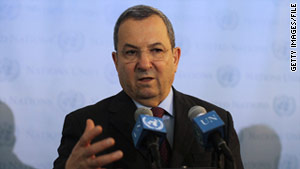 Israeli Defense Minister Ehud Barak says he is not worried about his nation's relationship with Egypt.