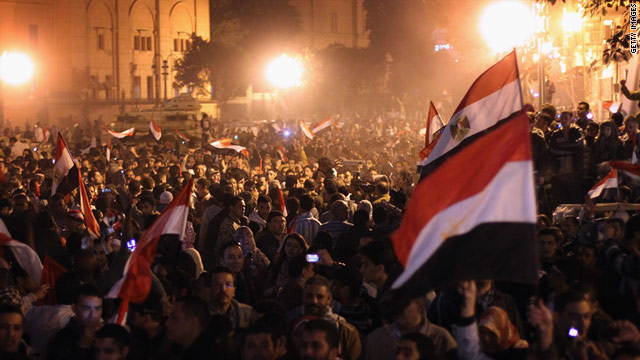 Egyptian President Hosni Mubarak stepped down on February 11 after 18 days of relentless demonstrations.