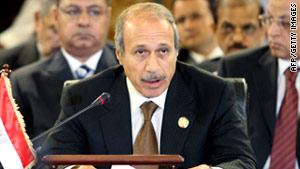 Former Interior Minister Habib al-Adly has been questioned regarding claims of profiteering and money-laundering.