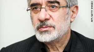 Opposition websites report Mir Hossein Moussavi and his wife continue to be under a house arrest that started Monday.