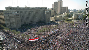Cairo's Tahrir Square has been the epicenter of Egypt's uprising, as it was for this February 18 gathering.
