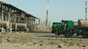 The Baiji oil refinery, north of Baghdad, is Iraq's largest such facility, producing 150,000 barrels a day