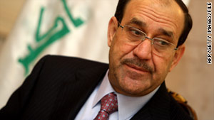Nuri al-Maliki called an emergency cabinet meeting after anti-government protests across Iraq left 13 people dead.