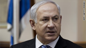 Israeli Prime Minister Benjamin Netanyahu wants to move stalled peace process forward.
