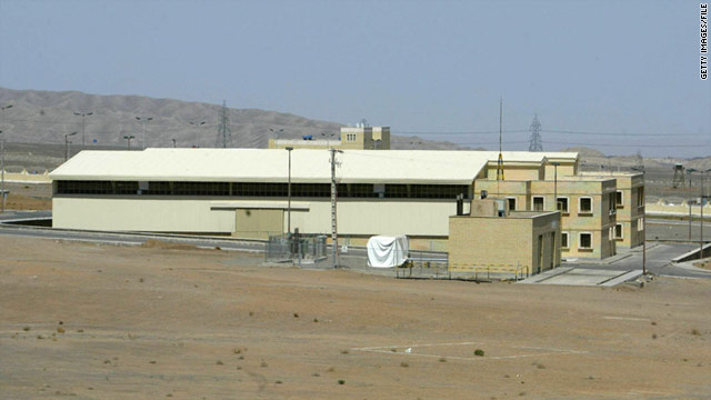 Western nations suspect Iran is enriching uranium for nuclear weapons at the Natanz plant (pictured in 2005) and elsewhere.