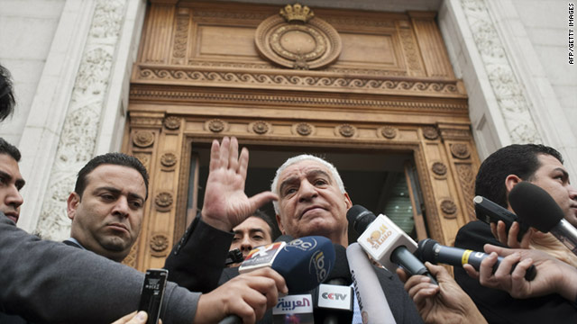 Egyptian state minister of antiquities Zahi Hawass in a file pic from February 16, 201