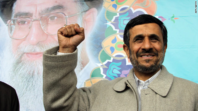 Iranian President Mahmoud Ahmadinejad: Police used tear gas on protesters Tuesday in Tehran says opposition website.