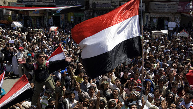 Yemen President Ali Abdullah Saleh has promised a new constitution and referendum as demonstrations spread