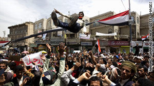 Yemen, like many other countries in the Mideast, has been wracked by weeks of unrest.