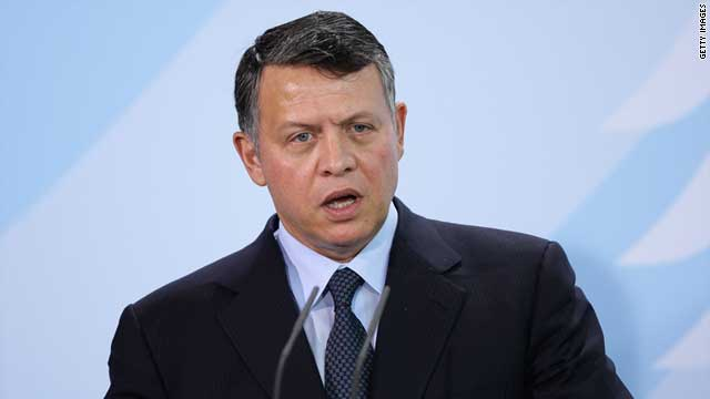 "King Abdullah II said Jordan is proceeding ""in earnest with the political reform process."""