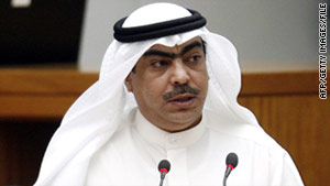 Members of the Kuwait Cabinet, including Minister of State for Cabinet Affairs Roudhan al-Roudhan, have resigned, according to the state-run Kuwait News Agency.