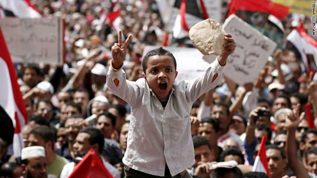 Pro-democracy protesters filled Cairo's Tahrir square on Friday, unhappy at perceived political set-backs.