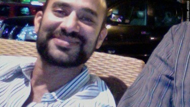 Muhammad Radwan was released to the Egyptian Embassy in Damascus on Friday, according to family members.