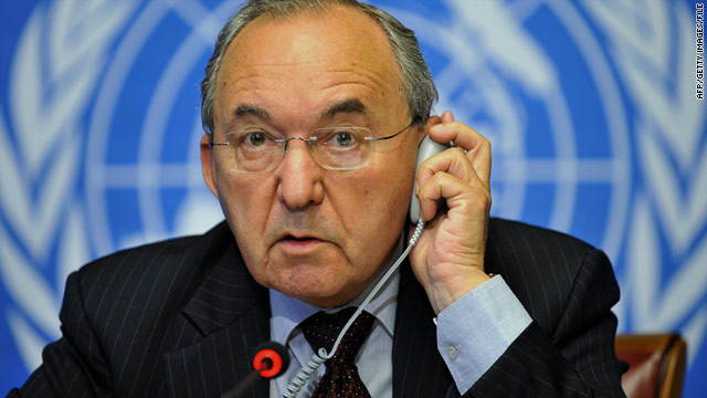 Richard Goldstone led UNHRC investigation into Israeli military practices (Photo Courtesy of CNN)