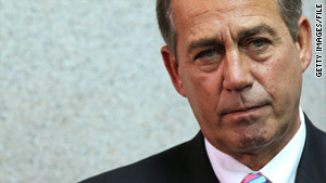 John Boehner's visit to Iraq is his first since being elected speaker of the House.