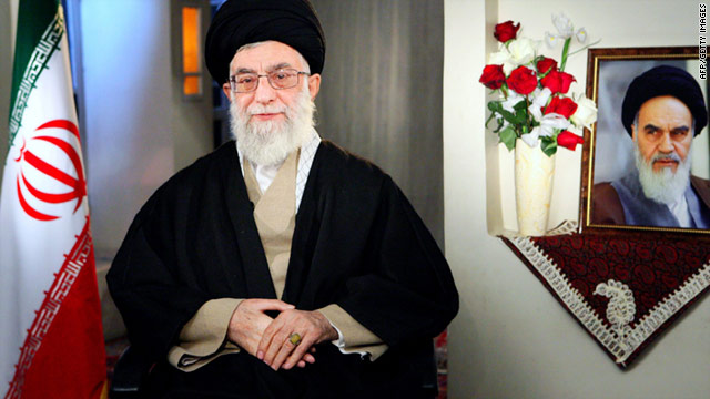 Ayatollah Ali Khamenei, pictured, has overruled a decision made by President Mahmoud Ahmadinejad.