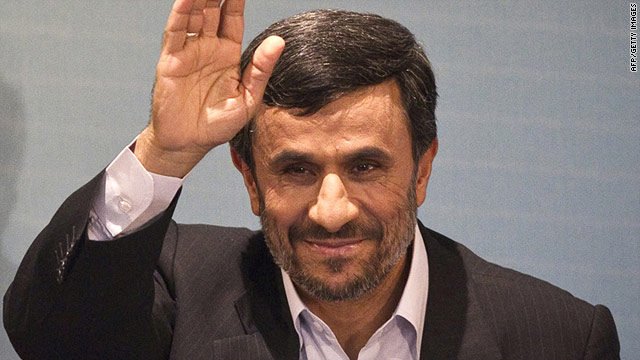 Mahmoud Ahmadinejad says the West is seeking destruction and a reinforcement of their evil dominance in the region.