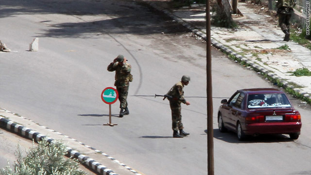 Syrian security forces have been accused of launching a violent crackdown in the city of Daraa.
