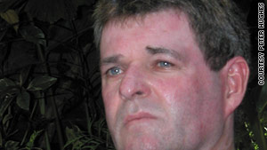 For years, Peter  Hughes said he put on a strong face to hide his pain after surviving the 2002 Bali bombings.