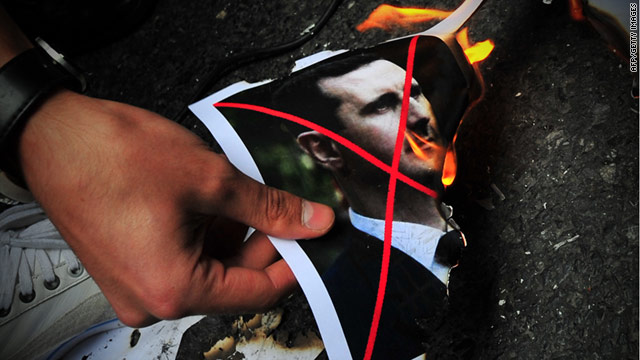 Sanctions aren't enough; Assad must go
