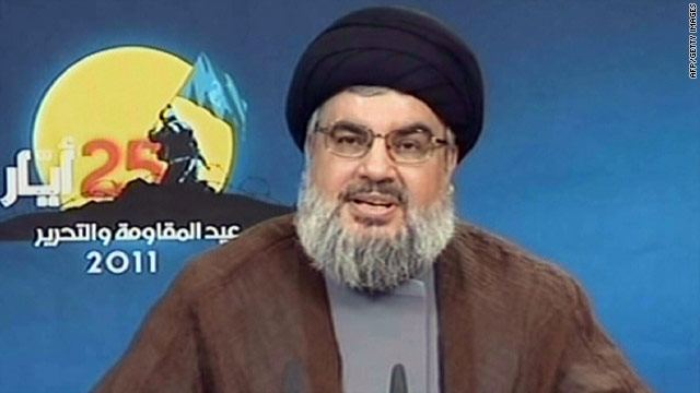 Hezbollah, led by Hassan Nasrallah, is backed by Syria and Iran, and is seen as anti-United States and anti-Israel.