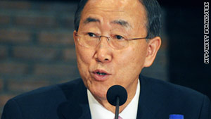 U.N. Secretary-General Ban Ki-moon said the U.N. will work with Lebanon to investigate an explosion on a UNIFIL convoy.
