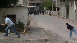 Syrian security forces fired on anti-government protesters in several southern towns Friday.