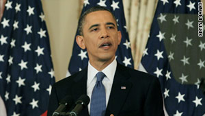 U.S. President Barack Obama has called for a Palestinian state based on pre-1967 Israeli borders.