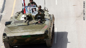 Syrian security forces have been accused of brutally suppressing anti-government protests in recent weeks.