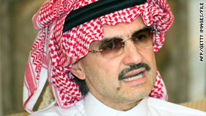 Saudi Prince Al-Waleed bin Talal says regional instability accounts for the high price of oil today.