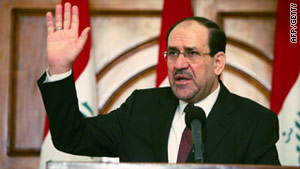 Iraqi PM Nuri al-Maliki has given Cabinet ministers until Monday to reduce corruption and improve basic services.