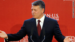 Jordan's King Abdullah II has announced major political and economic reforms.