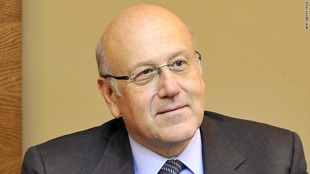 Lebanese Prime Minister-designate Najib Mikati is a Sunni political independent.