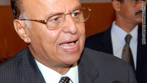 Vice President Abdu Rabo Mansour Hadi became acting president after a June 3 attack at the presidential palace.
